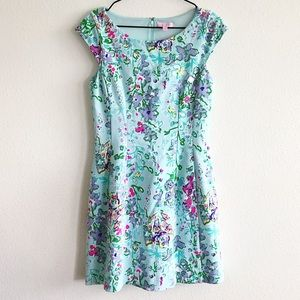 Lilly Pulitzer Pool Blue Southern Charm Dress